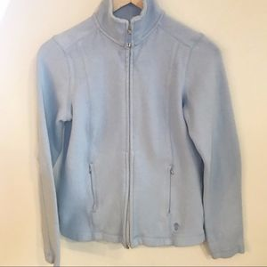 Tommy Bahama | Light Blue Zip Up Sweatshirt XS
